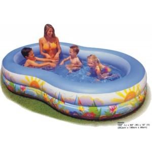 Bazén INTEX nafukovací OVAL 262x160x46