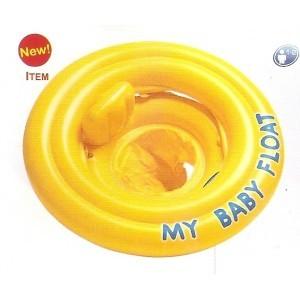 Kruh dětský dvojitý MY BABY FLOAT žlutý