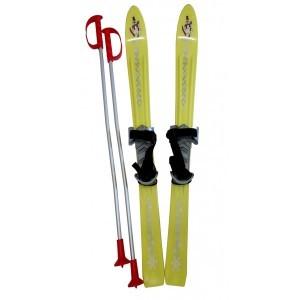 ACRA LSP90-ZL Lyže dětské 90cm žluté