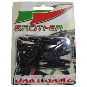 BROTHER Náhradní ploastové hroty k šipkám