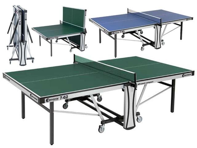 Sponeta S7-63i stůl na stolní tenis modrý