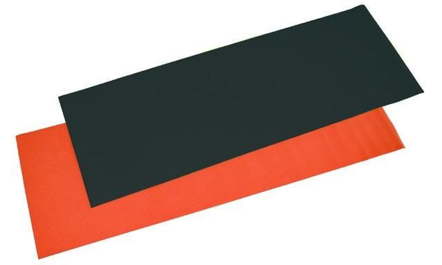 ACRA D81 Gymnastická podložka 173x61x0,4 cm oranžová