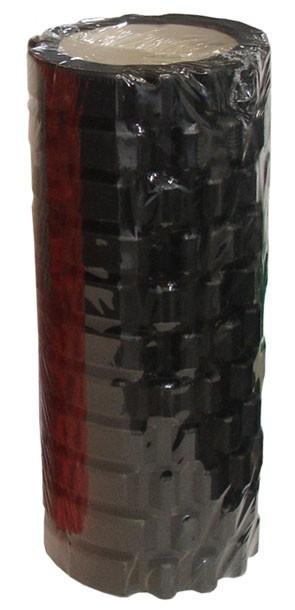 ACRA D85 Masážní válec - roller, ČERNÝ