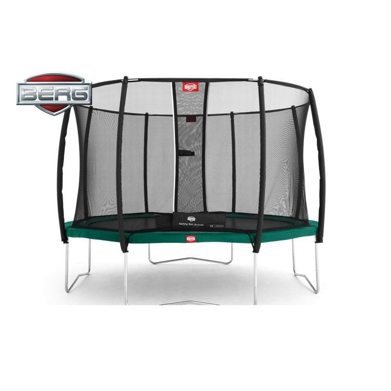 Trampolína BERG Favorit 430 s ochrannou sítí Deluxe 430