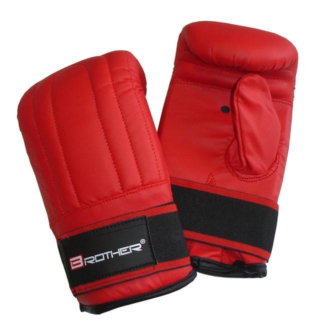 ACRA Boxerské kožené rukavice pytlovky, vel.M