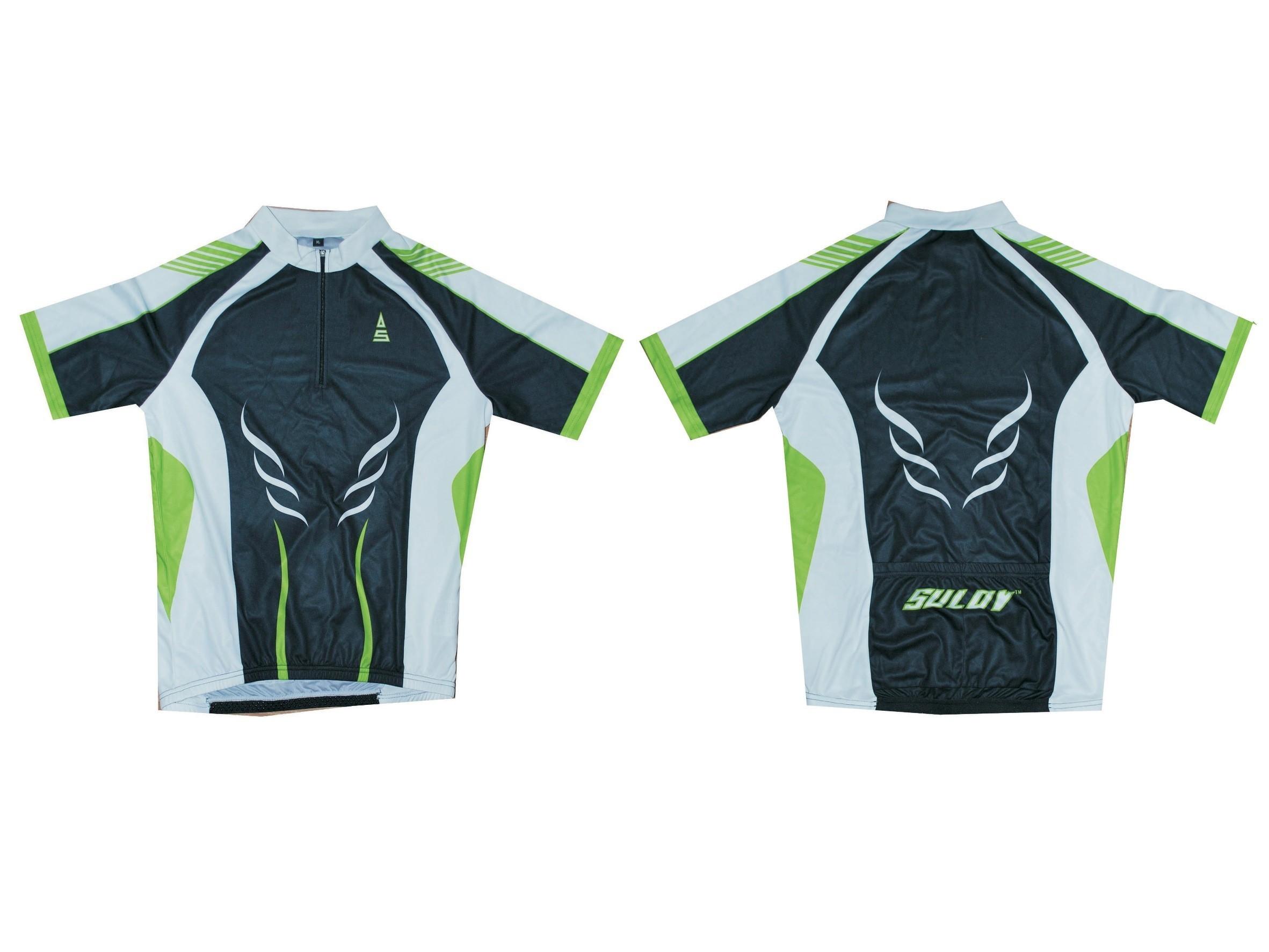 Cyklistický dres SULOV, vel. M, zelený