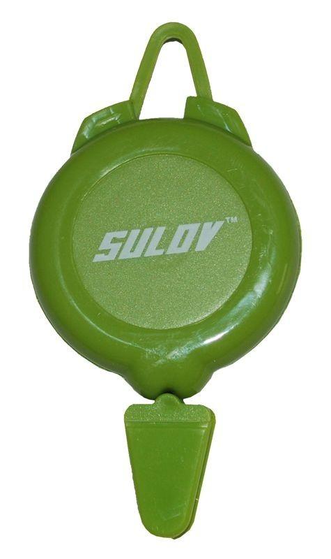 Držák na skipas SULOV, zelený
