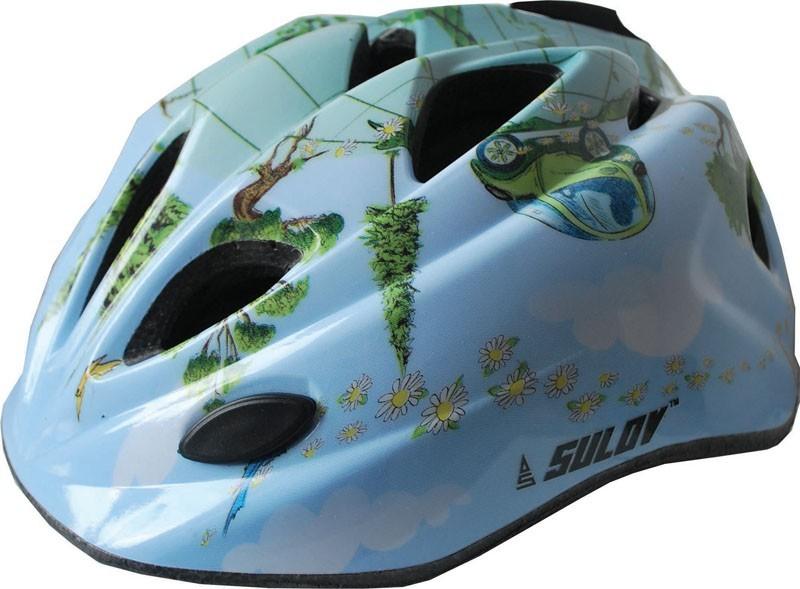 Dětská cyklo helma SULOV GUAR, vel. M, modrá