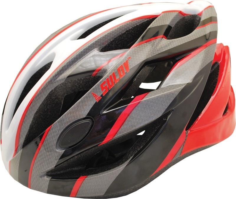 Cyklo helma SULOV RAPID, vel. M, červená