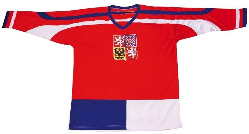 Hokejový dres ČR 1, červený, vel. XL