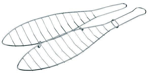 Grilovací rošt na 1 rybu, 42x9.5 cm