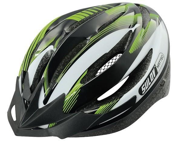 Cyklo přilba SULOV MATTEO, zelená, L 58-61cm