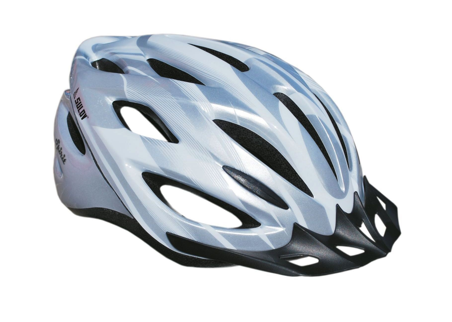 Cyklo helma SULOV SPIRIT, vel. M, stříbrná
