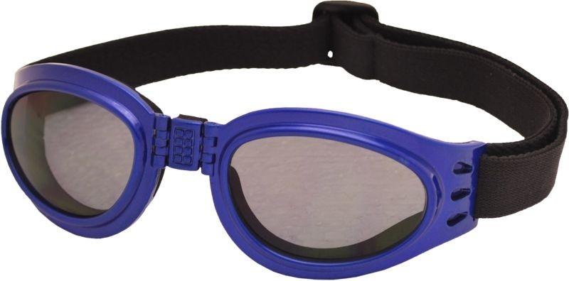 Skládací zimní brýle TT BLADE FOLD, metalická modrá