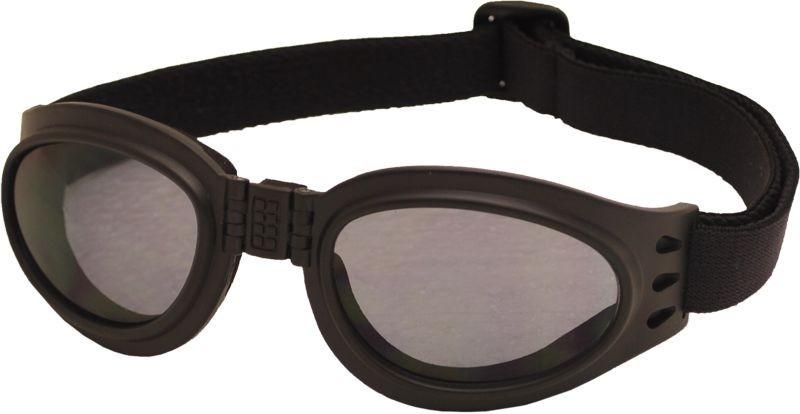 Skládací zimní brýle TT BLADE FOLD, černý mat
