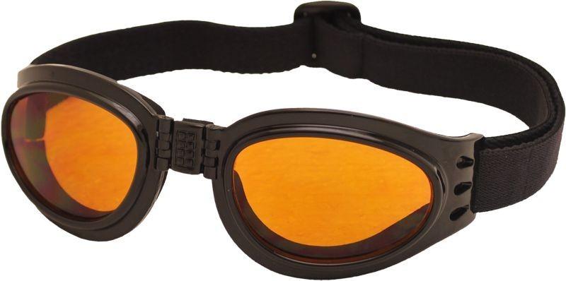 Skládací zimní brýle TT BLADE FOLD, černý lesk