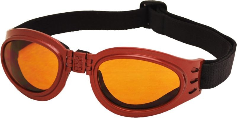 Skládací zimní brýle TT BLADE FOLD, metalická červená