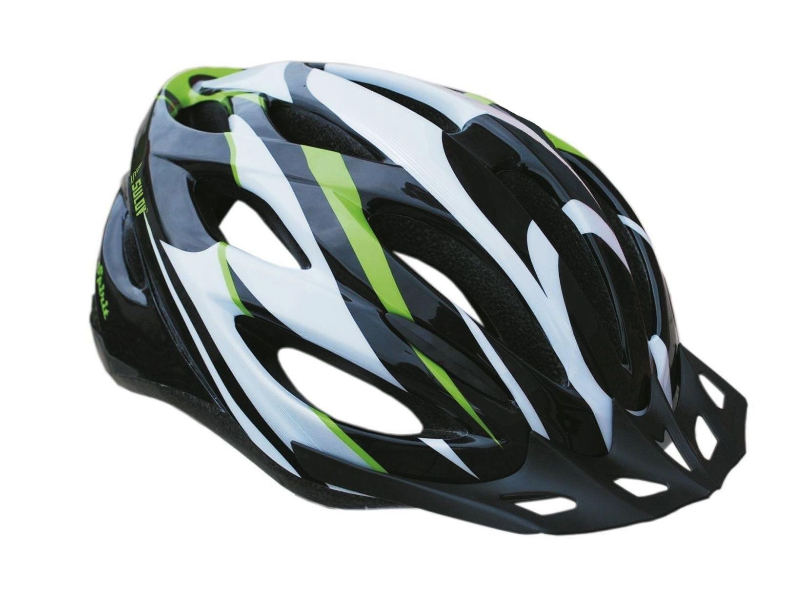Cyklo helma SULOV SPIRIT, vel. M, černo-zelená