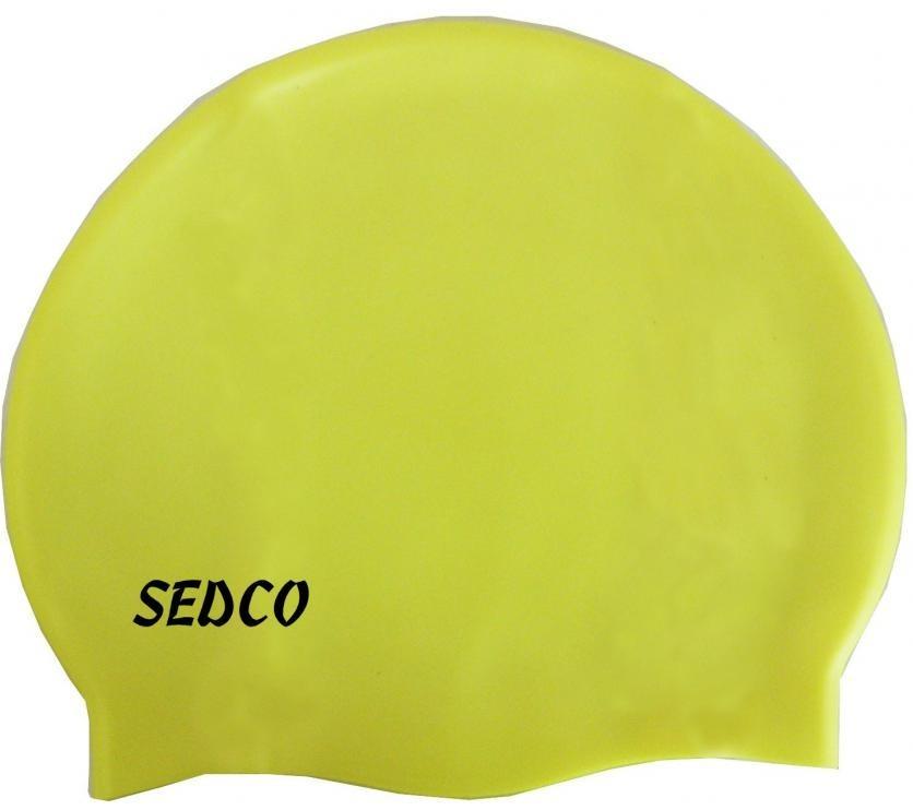 Koupací čepice Silicon RICHMORAL žlutá