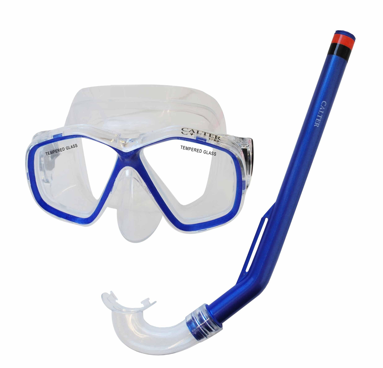 Potápěčský set CALTER KIDS S06+M278 PVC, modrý
