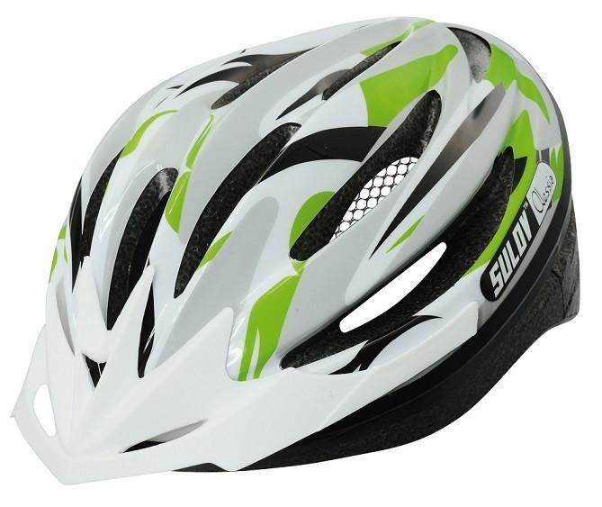 Cyklo přilba SULOV ALESSIA, zelená, L 58-61cm