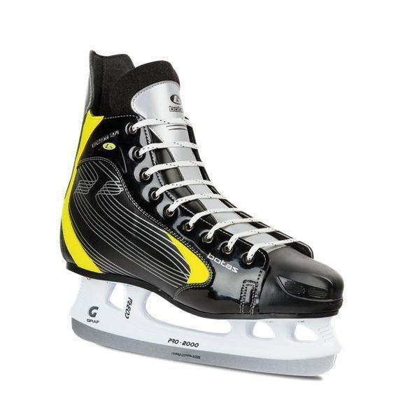 Hokejové brusle BOTAS FALLON velikost 40 černo/žlutá