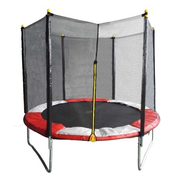 Trampolina FIT CENTER 305 cm + bezpečnostní síť + schůdky