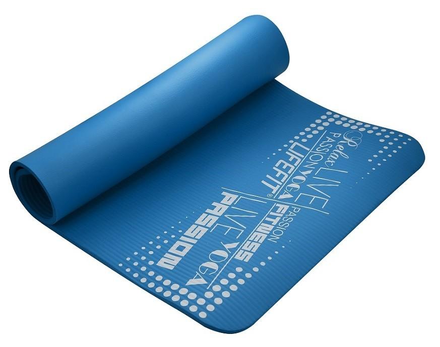 Podložka LIFEFIT YOGA MAT EXKLUZIV , 100x60x1cm, modrá