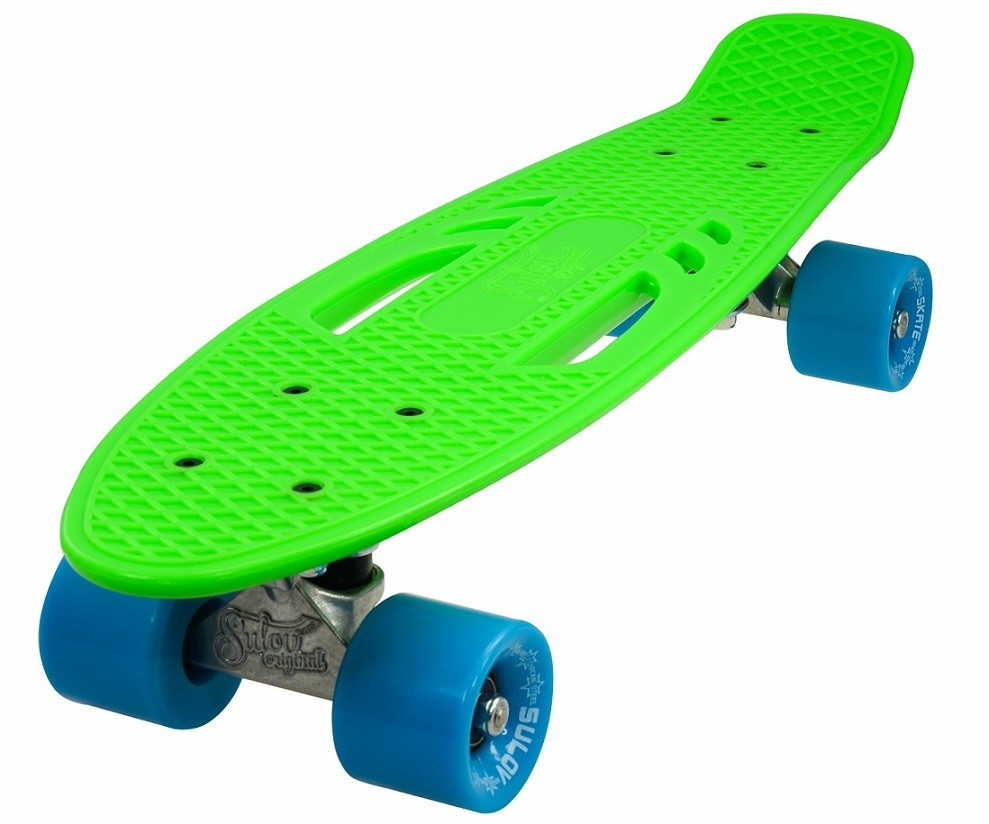 "Penny board 22"" CITY zeleno-modrý"