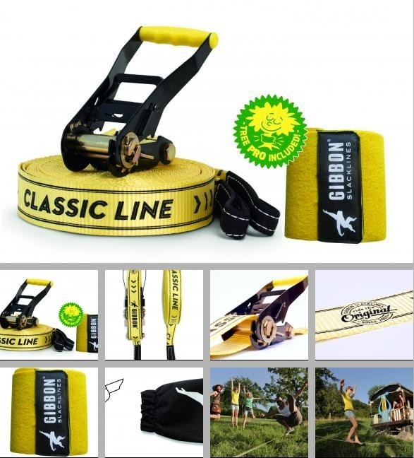Slackline GIBBON Classic X13 XL TREE PRO SET