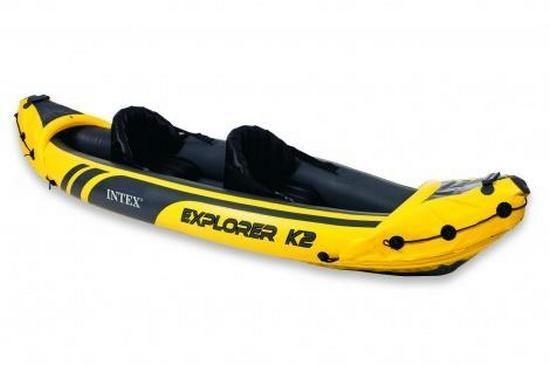 Člun nafukovací EXPLORER K2 SET INTEX barva žluto/černá