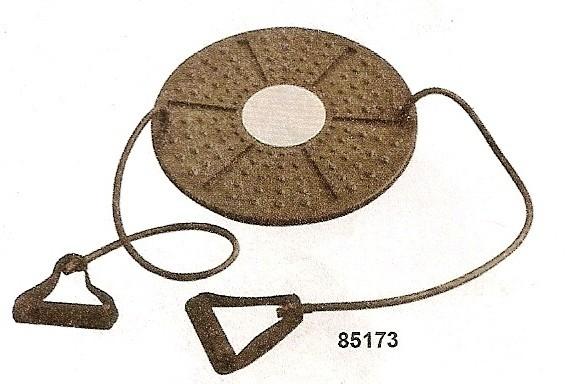 Balanční deska BOARD s posilovací gumou