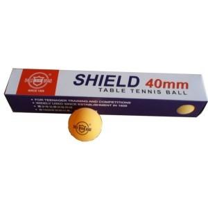 Míčky PP SHIELD RICHMORAL bezešvé žluté 6 kusů