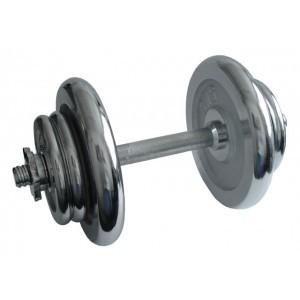 ACRA Činka nakládací, jednoruční, chromová - 17 kg